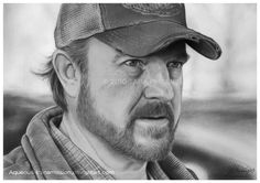 Bobby by aqueous-transmission on deviantART <-- amazing Supernatural Bobby, Supernatural Drawings, Sketches, Deviantart, White Collar, Family Business, People, Nerd, Fanart