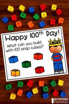 Over 50 different day of school ideas with little to no prep. You'll find literacy and math ideas, plus stem activities and ways to spread kindness! 100th Day Of School Crafts, 100 Day Of School Project, 100 Days Of School, School Holidays, School Projects, Middle School, High School, School Ideas, 100 Day Project Ideas