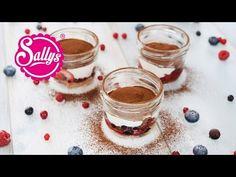 Sallys Rezepte - 5 Minuten Tiramisu im Glas / sommerliches, leichtes Tiramisu