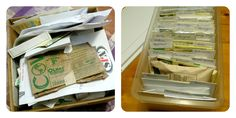 How to Organize Seeds.