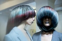 Borderline Beauty trend, 2014. Interpreted by Dmitry Vinokurov #TrendVision