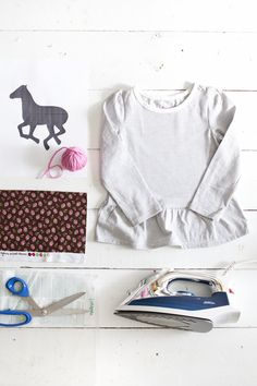 Make a vintage-inspired horse applique with this printable template