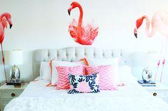 Bright, fun bedroom | theglitterguide.com
