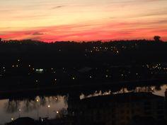 Por do sol, Coimbra