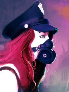 Training - Study : Mask by EvilPNMI on DeviantArt