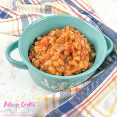Make these instant pot baked beans today! This classic baked beans recipe is ready in no time using the Instant Pot. Simply quick soak a pound of beans, fry up some bacon, and you will have a delicious pot of baked beans ready to enjoy at your next barbecue.