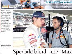 Max met Jorge Alemany van Pirelli