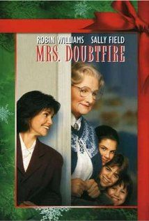 "Mrs. Doubtfire, 1993. Comedy. IMDb Rating: 6.6/10. Metascore: 53/100 (of 16 Critics' Reviews from http://www.metacritic.com/movie/mrs-doubtfire )................ ""After a bitter divorce, an actor disguises himself as a female housekeeper to spend secret time with his children granted sole custody to his Ex."""