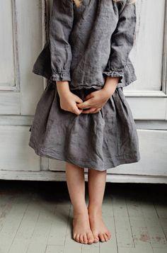 Handmade Linen Blouse & Skirt   Lapetitealice on Etsy