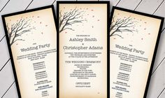Free printable wedding programs custom printables katies wedding free printable wedding programs custom printables katies wedding program wedding pinterest free printable wedding wedding programs and flashek Images