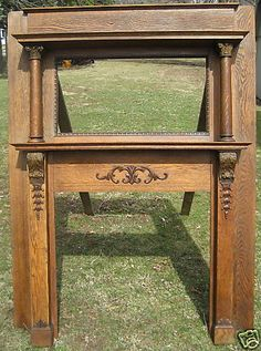 Fireplace Mantels, Fireplaces, Fire Starters, Entryway Tables, Shabby Chic, Images, Antiques, Google, Furniture