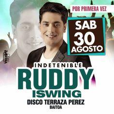 DE LA ZANJA : Por Primera Vez : Ruddy ISwing en la Disco Terraza...