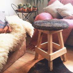 #urbanara #hocker #kolda #interior #home #recycling #reduce #reuse #recycle #inlove #wood #inspiration #roomdetails #newin @janawenge