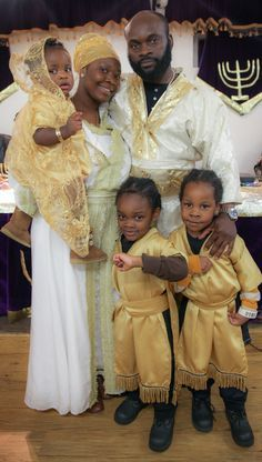 Black Hebrew family.