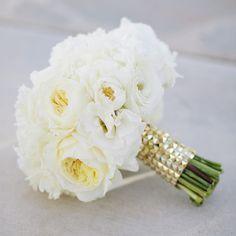 ramo novia peonias blancas boda