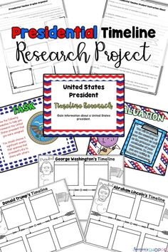 Atoms and elements unit of posters hands on activities and presidents of the united states timeline research project for presidents day urtaz Image collections