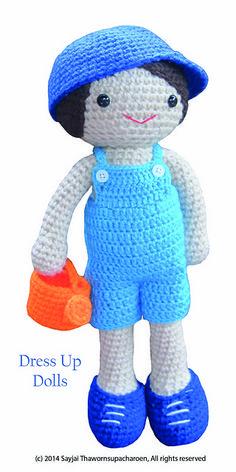 Amigurumi Dress Up Dolls : 1000+ images about ? Crochet Boy Dolls ? on Pinterest ...