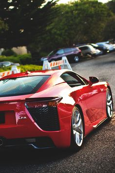 Lexus LFA.  Car of the Day: 14 August 2014.