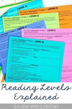 It's all about READING COMMUNICATION FROM SCHOOL TO HOME! This product was created to help educators communicate important information about reading levels to parents. It is very important that parents are working with educators in a similar fashion at home when reading. We want parents to reinforce the skills and strategies used during small group reading instruction at home. Giving parents specific and accurate information that is direct is best.