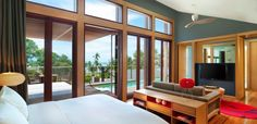 The Best Koh Samui House in Thailand: The Bedroom Of Luxury W Retreat Koh Samui