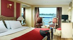King of Thebes Nile cruise double cabin