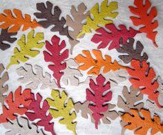 100 Plantable Paper Wedding Favor Oak Leaves - Flower Seed. $72,00, via Etsy.