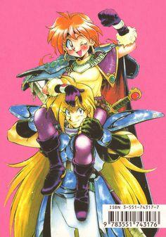 Art of Slayers Old Anime, Manga Anime, Anime Art, Anime Was A Mistake, Japanese Video Games, Gothic Anime, Slayer Anime, Cultura Pop, Comic Covers