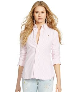 Custom-Fit Oxford Shirt - Polo Ralph Lauren Shirts   Blouses - RalphLauren .com 61d447f587f