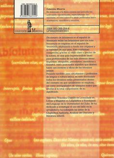 """Cubierta trasera de mi """"Diccionario de latinismos en el español de Venezuela"""" (Los Libros de El Nacional, 2005)"""