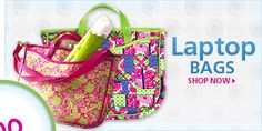 Lilly pulitzer Laptop & iPad bags