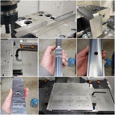 Всем доброго дня! 😃 Да бывает и обрабатываем сталь, но пока только для собственных нужд, а так ждём хорошего заказа на несколько млн.руб. тогда возьмемся ☺️😁🙃 Сделали очень надёжное крепление вакуумного стола к фрезерному столу. #обработкастали #сталь10 #креплениестола #вакуумныйстол Tools, Instruments