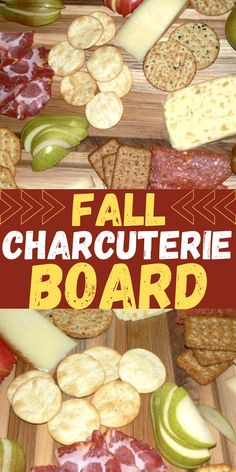 Fall Charcuterie Board Recipe -- this autumn charcuterie board is the best charcuterie board for beginners! The meat and cheese board is mouthwatering and easy to make