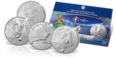 Oficjalny folder z medalami wybitymi z okazji UEFA EURO 2016
