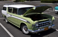 1956 Hudson Station Wagon Maintenance of old vehicles: the material for new cogs/casters/gears/pads could be cast polyamide which I (Cast polyamide) can produce