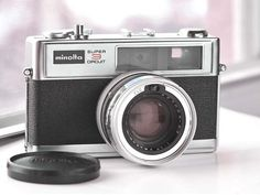 Minolta HiMatic 11 Rangefinder Camera   by VintageCameraClub, $79.00