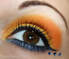 Sailor Venus inspired make up (with Lime Crime Chinadoll, Catrice, Beni Durrer and Zoeva) more photos: http://www.talasia.de/2012/12/03/look-sailor-venus-inspired-make-up/