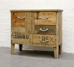 Rupert Blanchard Salvage wood furniture piece