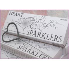 Someday when we renew our vows I want these!  We had sparklers at our wedding but never got to use them. :(