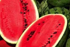 To sit at the beach a hot summerday eating watermelons is one of my favorite things to do.