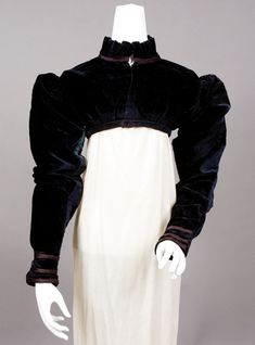 1815 ___ Spencer Jacket ___ Silk velvet ___ from The Tasha Tudor Collection at 2012 Whitaker Auction