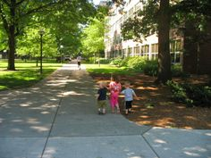 Check out my review about going to the U of M Ann Arbor campus with kids.