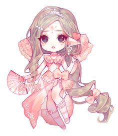 To take part of our lovely community, please join our Discord! Cute Anime Chibi, Kawaii Chibi, Kawaii Art, Kawaii Anime Girl, Anime Art Girl, Cute Animal Drawings Kawaii, Kawaii Drawings, Cute Drawings, Character Art