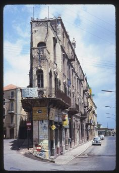 Old Building in Port Area - #Beirut [1965] | Copyright Charles W Cushman