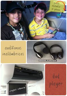 Toyota Highlander Nenes y entretenimiento @Toyota USA