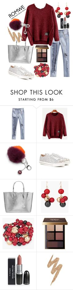 """""""Untitled #328"""" by aazraa ❤ liked on Polyvore featuring Accessory PLAYS, Miu Miu, MICHAEL Michael Kors, Chico's, Bobbi Brown Cosmetics and Urban Decay"""