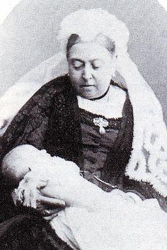Queen Victoria with Louis of Battenberg