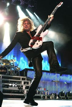 Def Leppard - Rick Savage by Kevin Baldes, via Flickr