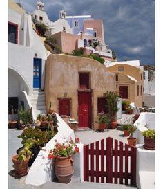 Oia - Santorini, Greece                                                                                                                                                     Mais