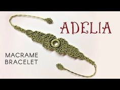 Macrame bracelet tutorial - The Adelia - Simple but elegant macrame pattern. This macrame bracelet tutorial is about the first element of the Adelia macrame jewelry set. Hope you like this elegant macrame pattern.Macrame-Armband-Tutorial – The Adel Micro Macrame Tutorial, Macrame Jewelry Tutorial, Macrame Bracelet Patterns, Macrame Bracelet Tutorial, Macrame Necklace, Macrame Patterns, Macrame Bracelets, Macrame Knots, Loom Bracelets
