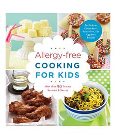 Look at this Allergy-Free Cooking for Kids on #zulily today!